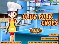 Cucina con sara costolette di maiale gioca giochi - Giochi di cucina sara ...