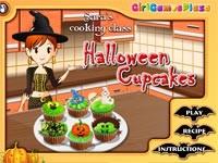 Cucina con sara tortine di halloween gioca giochi - Giochi di cucina sara ...