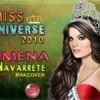 Miss Universo: Jimena Navarrete