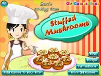 Cucina con sara funghi ripieni gioca giochi gratuiti su - Giochi di cucina sara ...