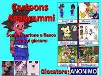 Cartoons Anagrammi