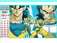 Dragon Ball Z Hidden Numbers