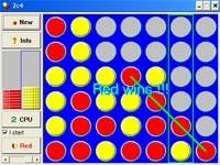 Forza 4 Row Game
