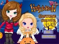 Halloween Shopping Game