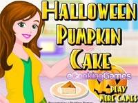 Cucina Una Torta Di Zucca Per Halloween