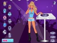 DJ Girl Dress Up