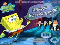 SpongeBob WhoBob WhatPants