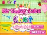 Torta Di Compleanno Dello Chef
