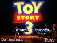 Toy Story 3 Oggetti Nascosti
