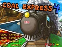 Coal Express 4: Treno A Vapore Trasporto Merci