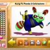 Kung Fu Panda 2 Color Game