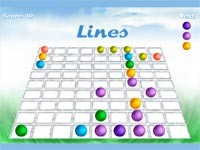 Lines: Palline In Linea!