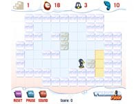 Penguin Push: Sokoban Col Pinguino