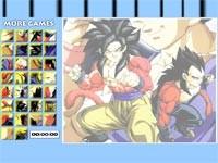 Goku And Vegeta Super Saiyan 4 Puzzle
