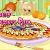 Pizza Dessert Alla Frutta