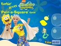 Barbie With Spongebob