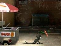 Bolt Mittens Hot Dog Hideaway