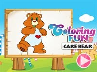 Coloring Fun Care Bear