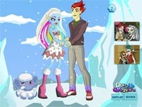 Monster High: Abbey And Heath Dress Up