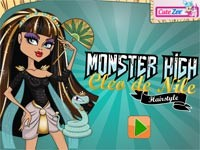 Monster High: Cleo De Nile Hairstyle