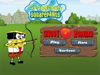 Spongebob Shoot Zombie