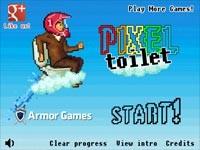 Pixel Toilet