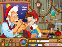 Hidden Objects Pinocchio