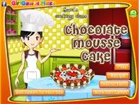 Cucina con sara dolce alla mousse di cioccolato gioca - Giochi di cucina sara ...