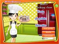 Cucina con sara torta gelato biscotto gioca giochi - Giochi di cucina sara ...